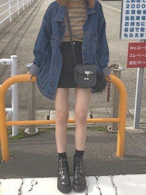 【最旬の着こなし】マンネリ化しがちのGジャンの着こなし方改革♡の9枚目の画像