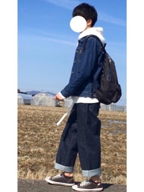 【最旬の着こなし】マンネリ化しがちのGジャンの着こなし方改革♡の28枚目の画像