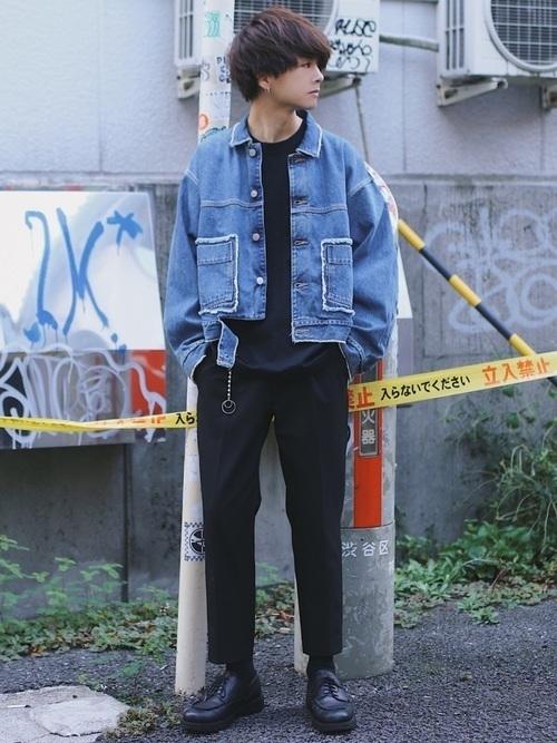 【最旬の着こなし】マンネリ化しがちのGジャンの着こなし方改革♡の34枚目の画像