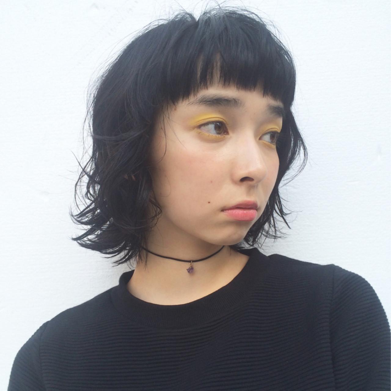 黒髪ショートボブのヘアカタログ♡前髪ありなしパーマまで徹底解説!の14枚目の画像