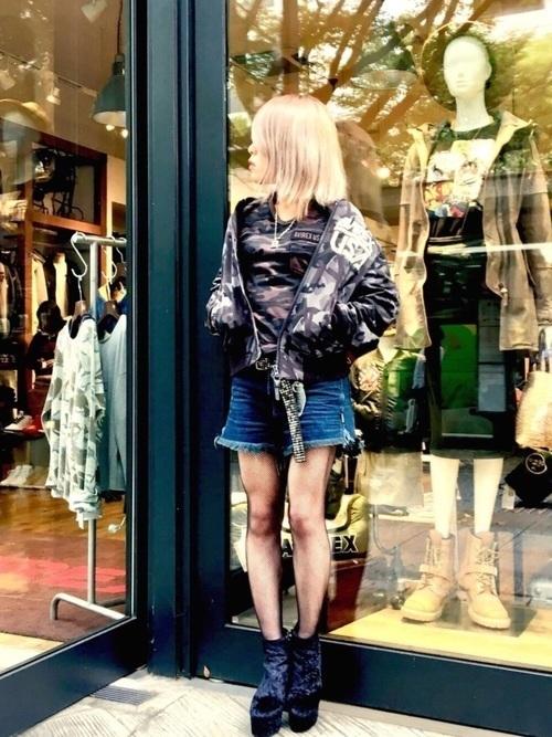 【レディース】アメカジでラフな着こなしを♡ブランド・コーデを発表の3枚目の画像