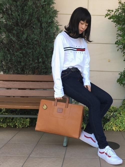 【レディース】アメカジでラフな着こなしを♡ブランド・コーデを発表の7枚目の画像