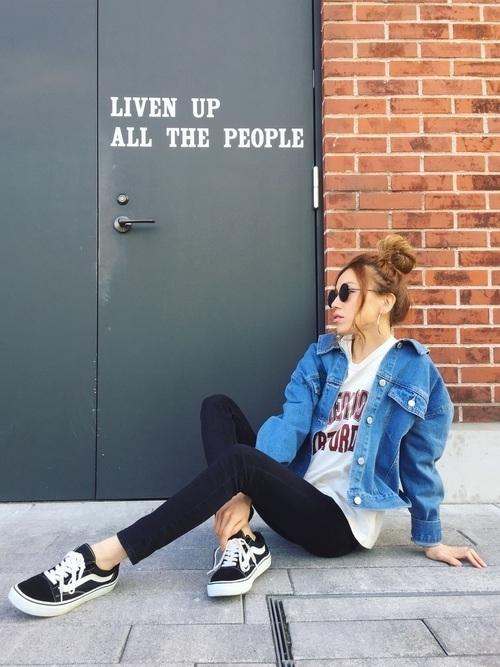【レディース】アメカジでラフな着こなしを♡ブランド・コーデを発表の20枚目の画像