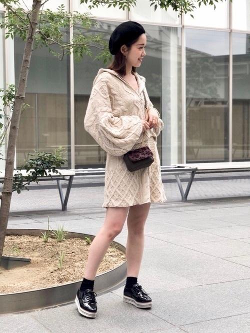 【2018年秋冬】上級者コーデをニットアップでかなえる♡の29枚目の画像