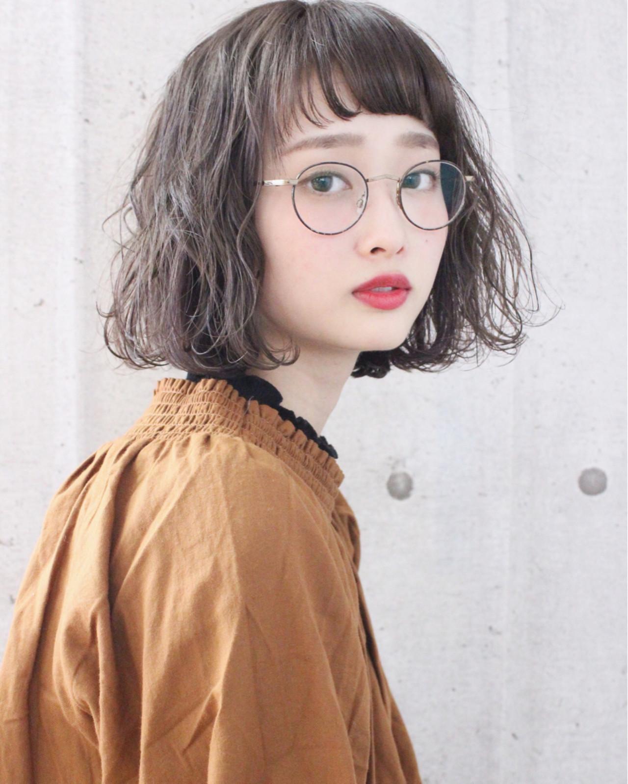 《2020年注目髪型》くせ毛で楽しむ!ボブヘアカタログ特集♡の18枚目の画像