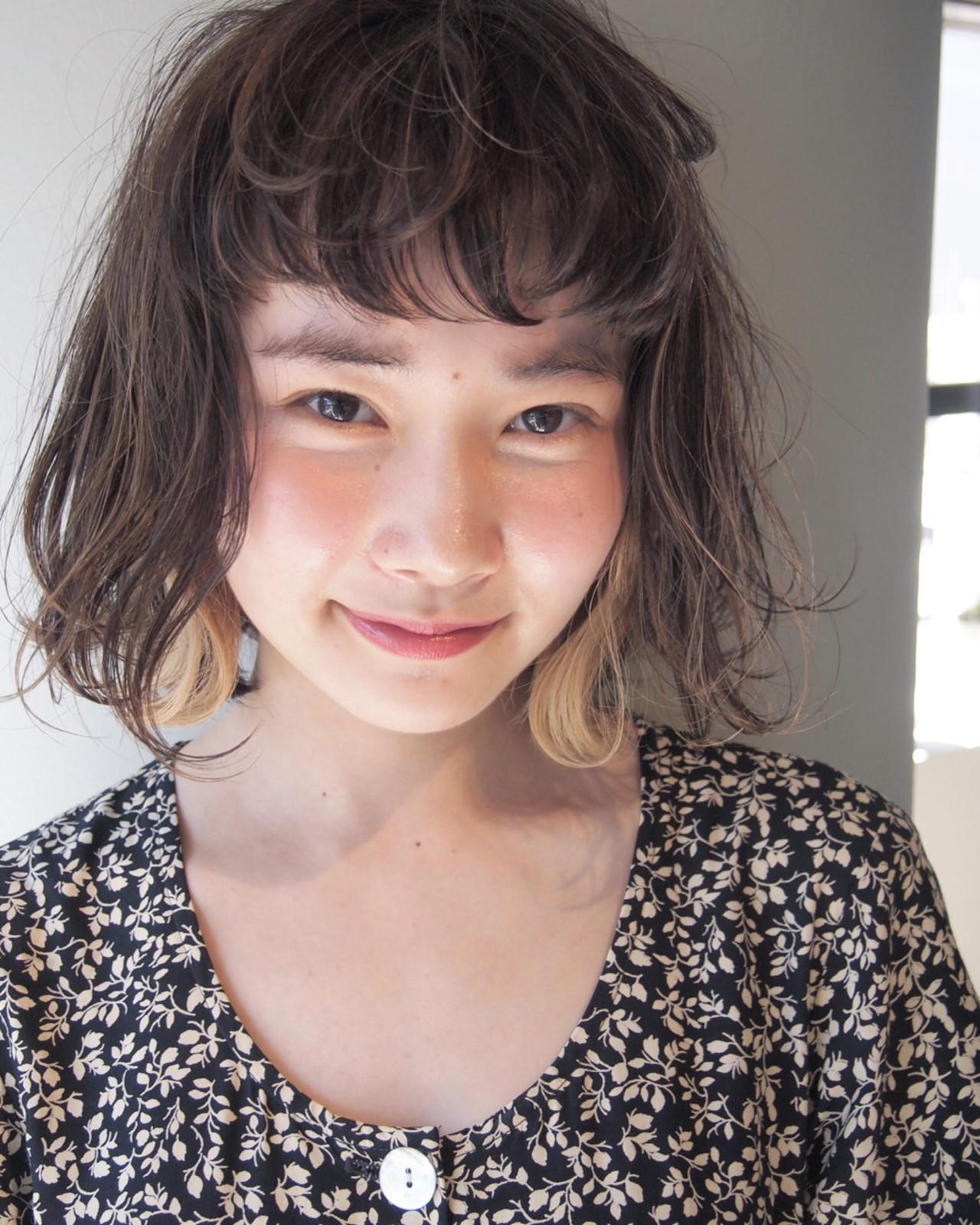 《2020年注目髪型》くせ毛で楽しむ!ボブヘアカタログ特集♡の34枚目の画像