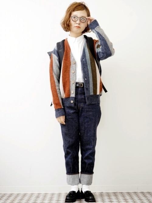 トラッドファッションアイテム【渋め小物】をプラスすれば、まるで映画のなかの世界♡