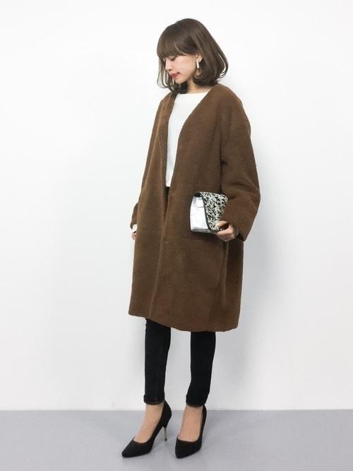 メンズウケ◎なブラウンコートを秋冬に取りいれておしゃれさんに♡の9枚目の画像