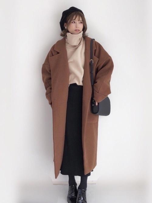 メンズウケ◎なブラウンコートを秋冬に取りいれておしゃれさんに♡の6枚目の画像