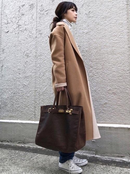メンズウケ◎なブラウンコートを秋冬に取りいれておしゃれさんに♡の3枚目の画像