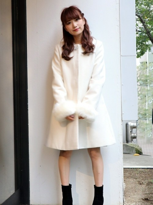 """""""Aラインコート""""は愛されシルエット♡この冬推すAラインコート集の2枚目の画像"""