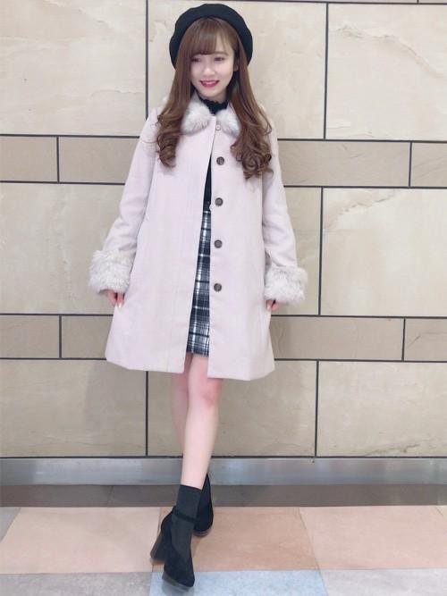 """""""Aラインコート""""は愛されシルエット♡この冬推すAラインコート集の3枚目の画像"""
