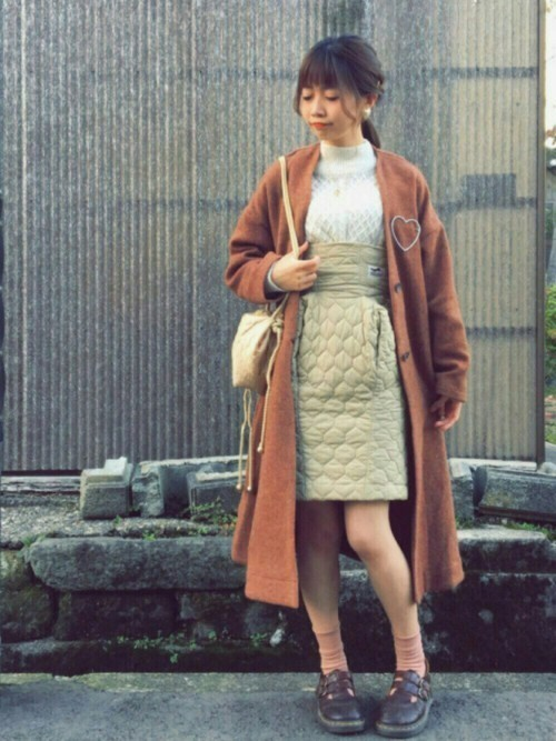 """""""Aラインコート""""は愛されシルエット♡この冬推すAラインコート集の5枚目の画像"""