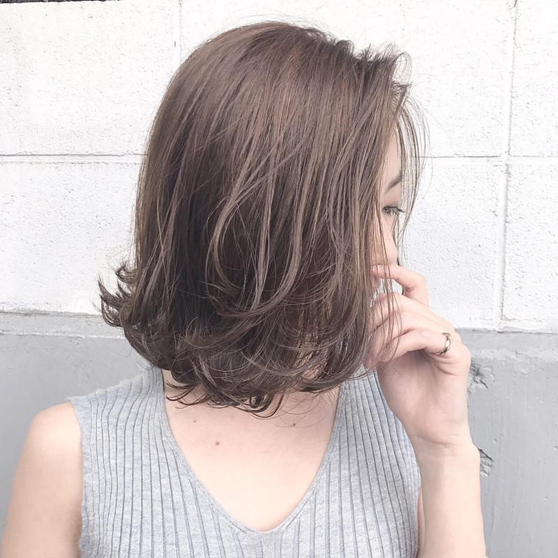 色落ち楽しい髪色アッシュグレー×グラデーションのトリコなの…♡