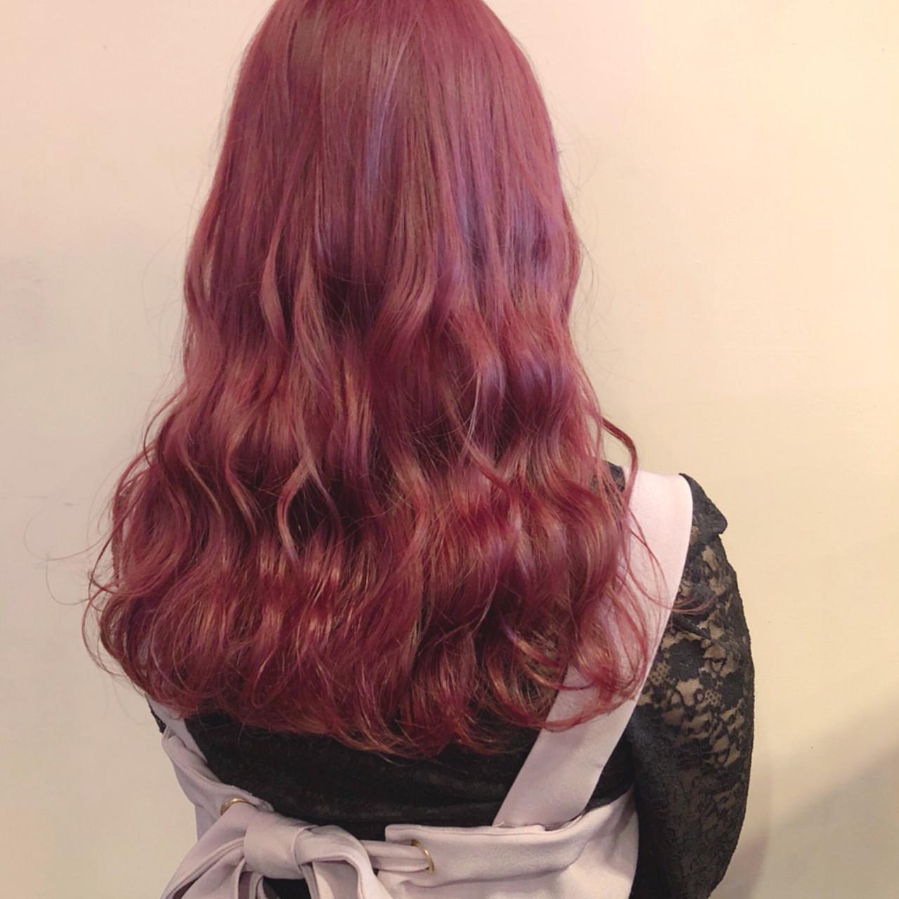 市販で買える色持ち◎なおすすめピンクのヘアカラートリートメントの12枚目の画像