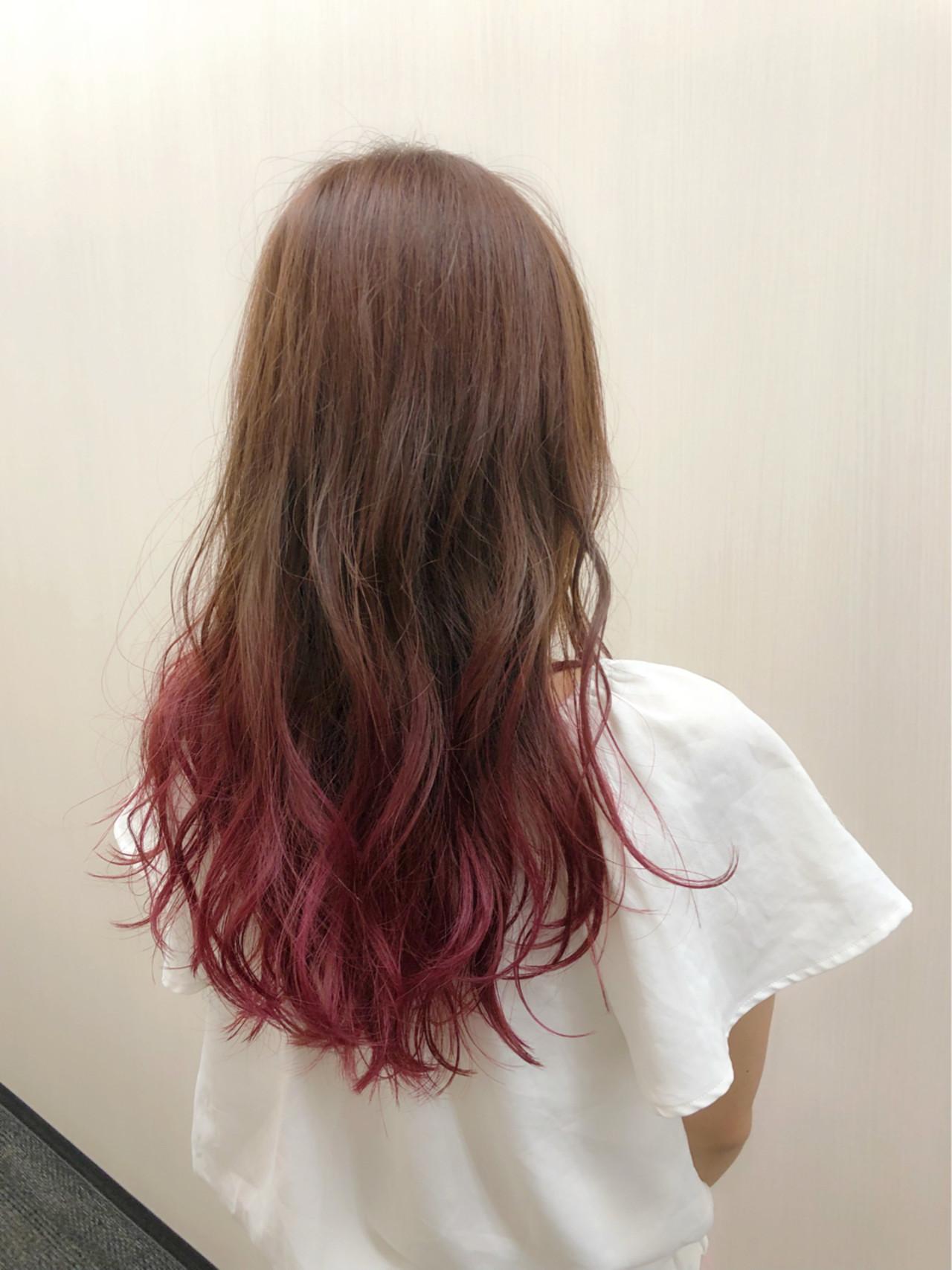 市販で買える色持ち◎なおすすめピンクのヘアカラートリートメントの15枚目の画像