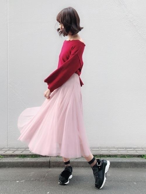 レディース必見!【チュールスカート】の旬な着こなしバッチリ講座♡の23枚目の画像