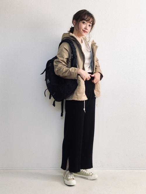 着回し力ばつぐん!【黒パンツ】のオトナレディースコーデ60選♡の52枚目の画像