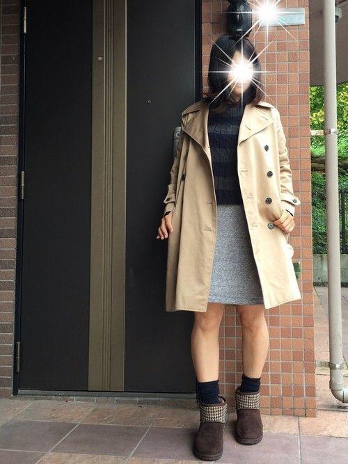 楽ちん【スウェットスカート】を着まわせ♡春夏秋冬コーデまとめの19枚目の画像