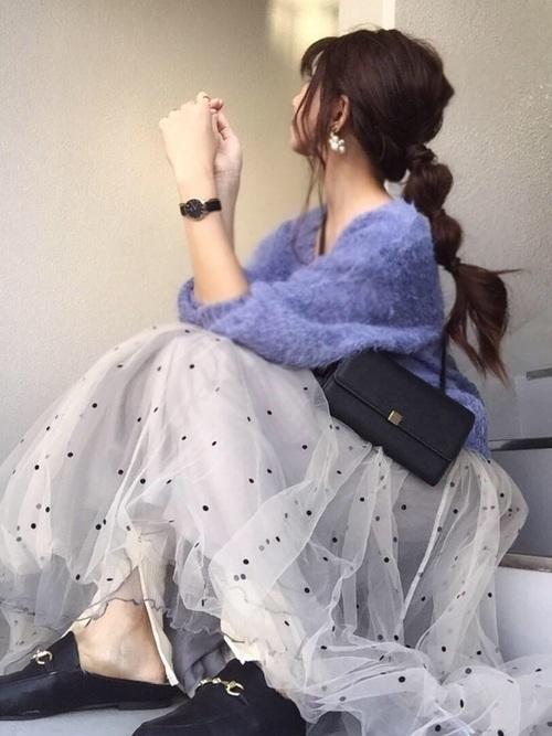 レディース必見!【チュールスカート】の旬な着こなしバッチリ講座♡の9枚目の画像