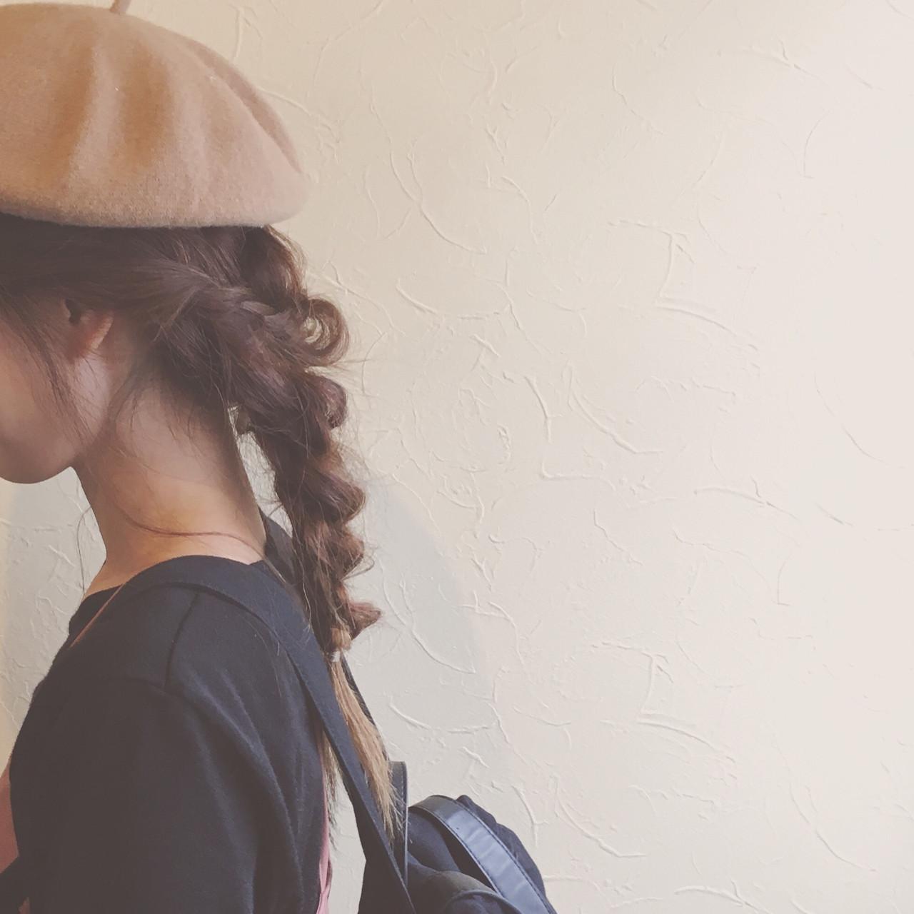 おしゃれさん必見♡モテを呼び込む1weekベレー帽の髪型アレンジの19枚目の画像