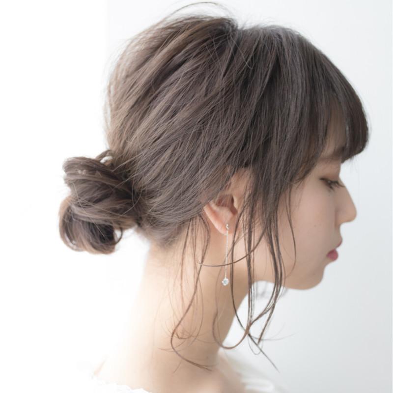 【仕事におすすめのまとめ髪】好印象な簡単オフィスヘアアレンジ9選