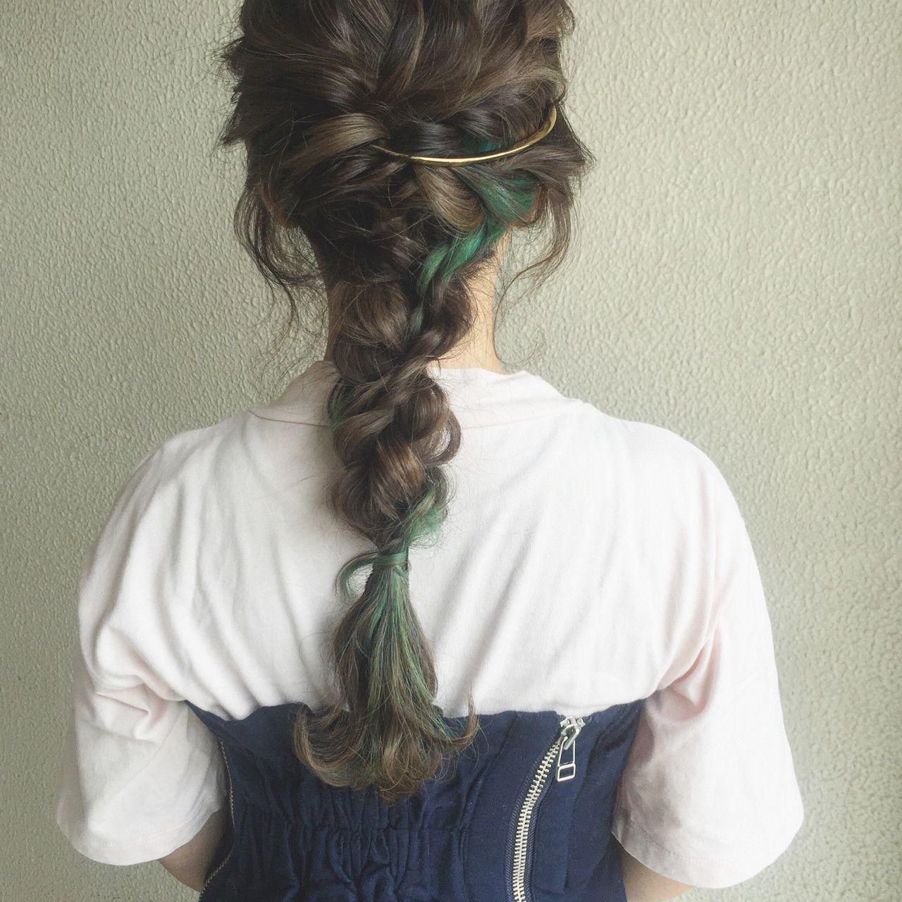 髪型別《簡単ヘアアレンジやり方入門編》かわいい髪型講座開講です♡の32枚目の画像
