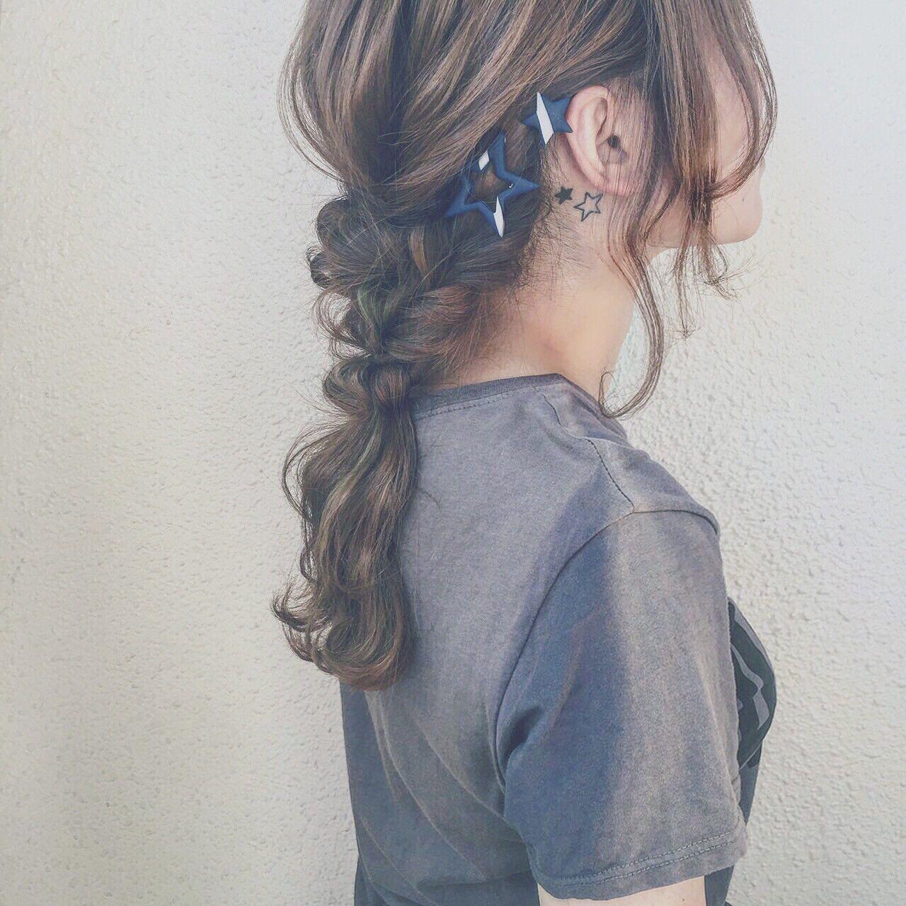 髪型別《簡単ヘアアレンジやり方入門編》かわいい髪型講座開講です♡の33枚目の画像