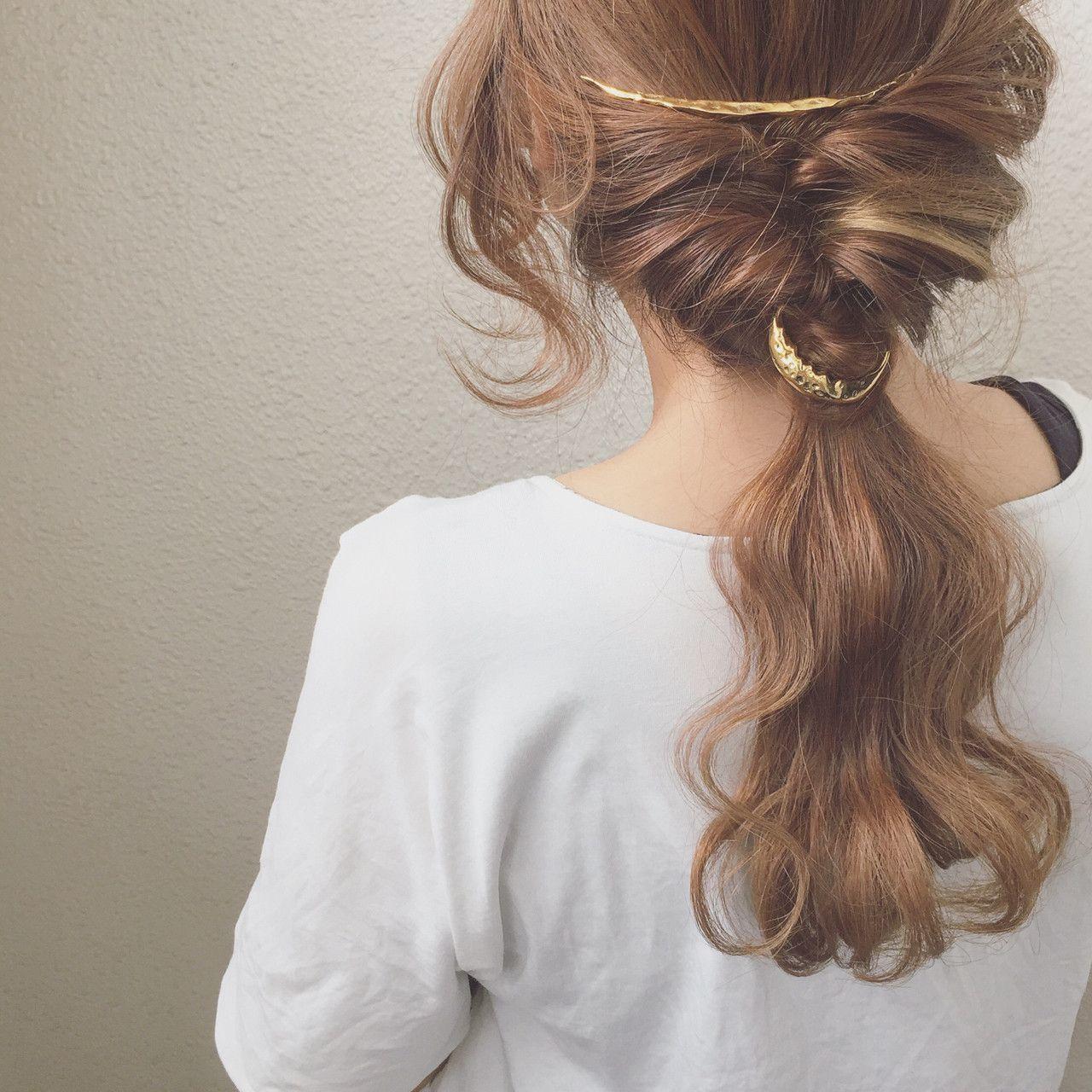 髪型別《簡単ヘアアレンジやり方入門編》かわいい髪型講座開講です♡の35枚目の画像