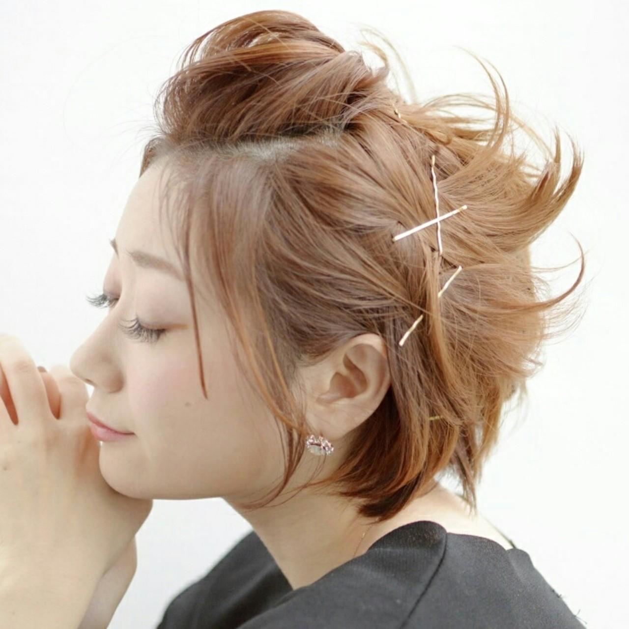 ポンパドール のやり方をマスター 髪型の簡単アップスタイル紹介