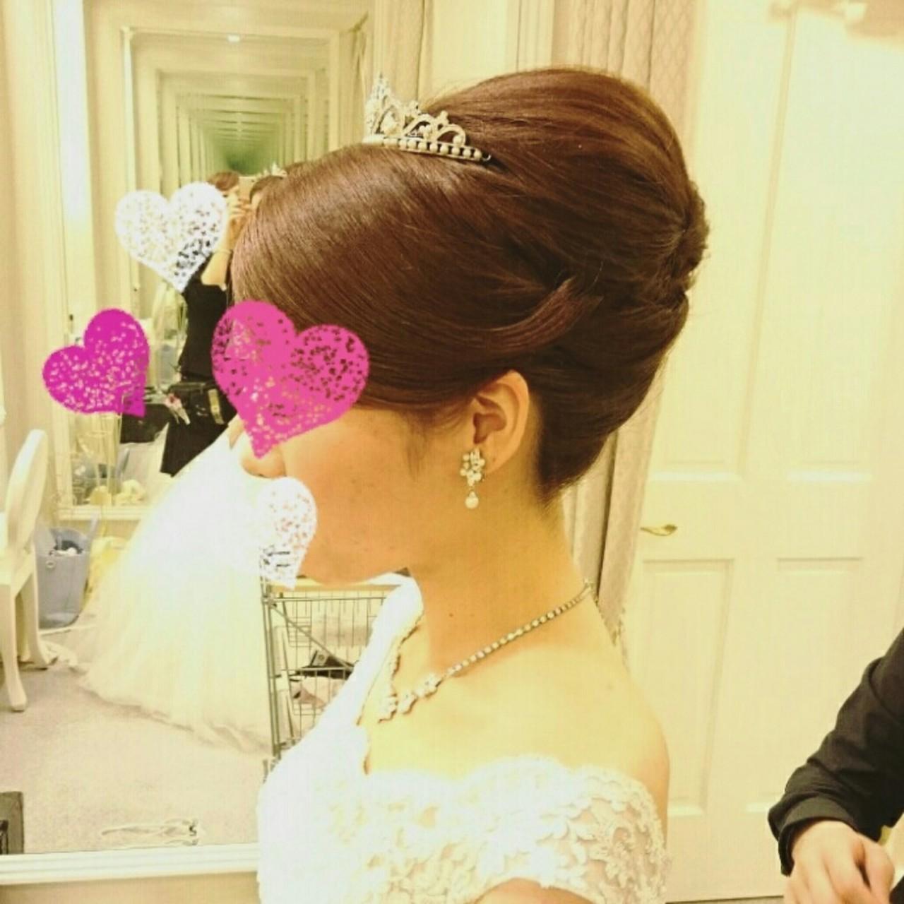 《花嫁アレンジ特集》結婚式の主役はあなた♡ステキな髪型を選ぼう!の7枚目の画像