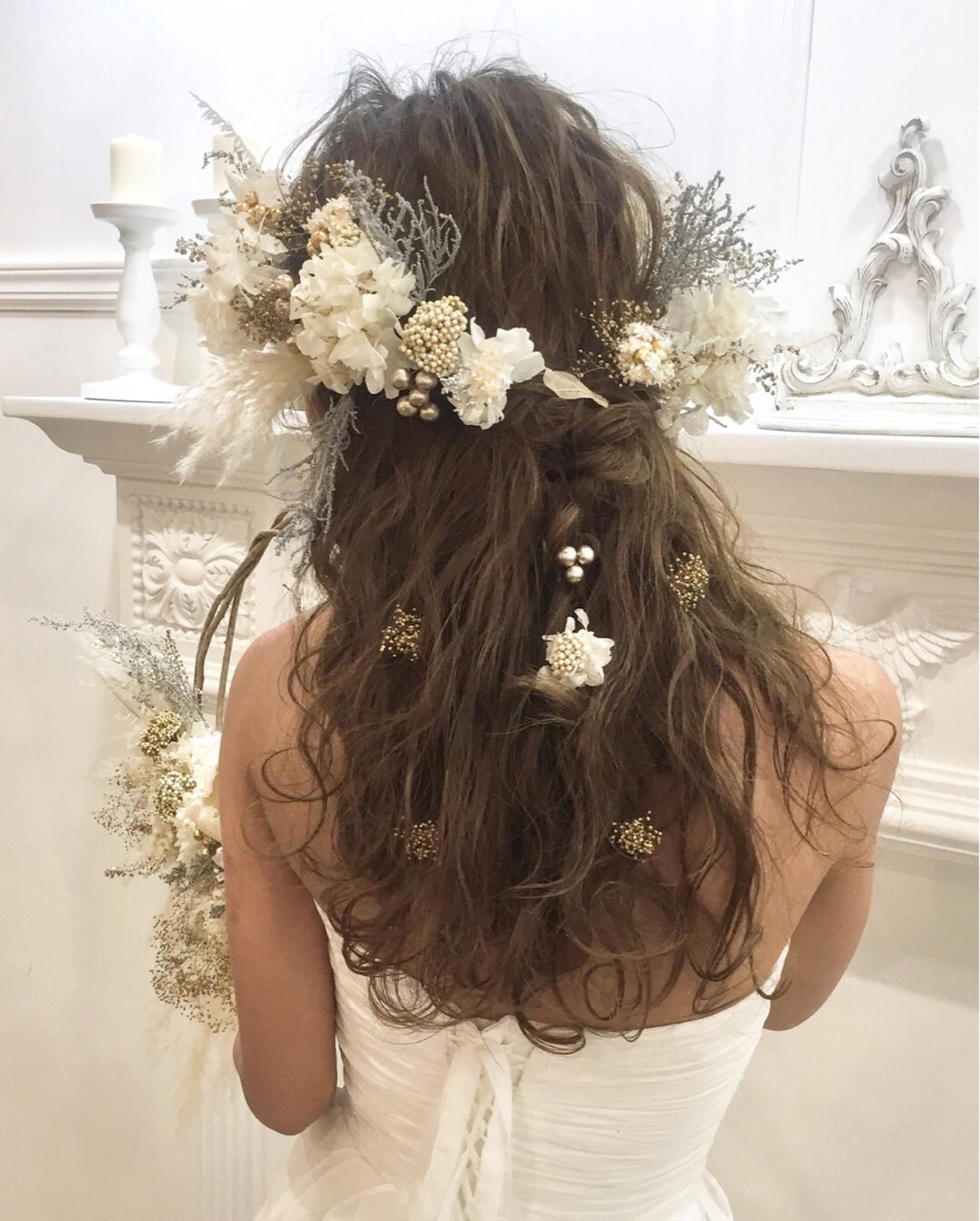 《花嫁アレンジ特集》結婚式の主役はあなた♡ステキな髪型を選ぼう!の10枚目の画像