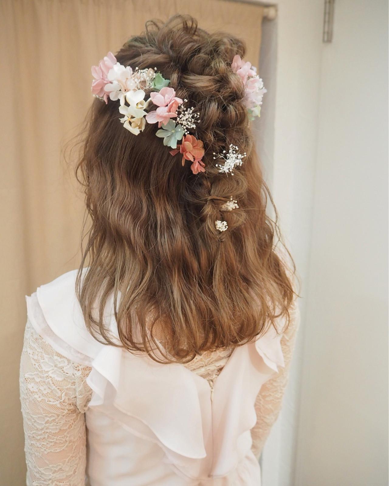《花嫁アレンジ特集》結婚式の主役はあなた♡ステキな髪型を選ぼう!の14枚目の画像