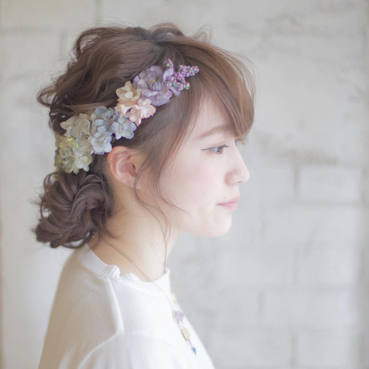 《花嫁アレンジ特集》結婚式の主役はあなた♡ステキな髪型を選ぼう!の20枚目の画像