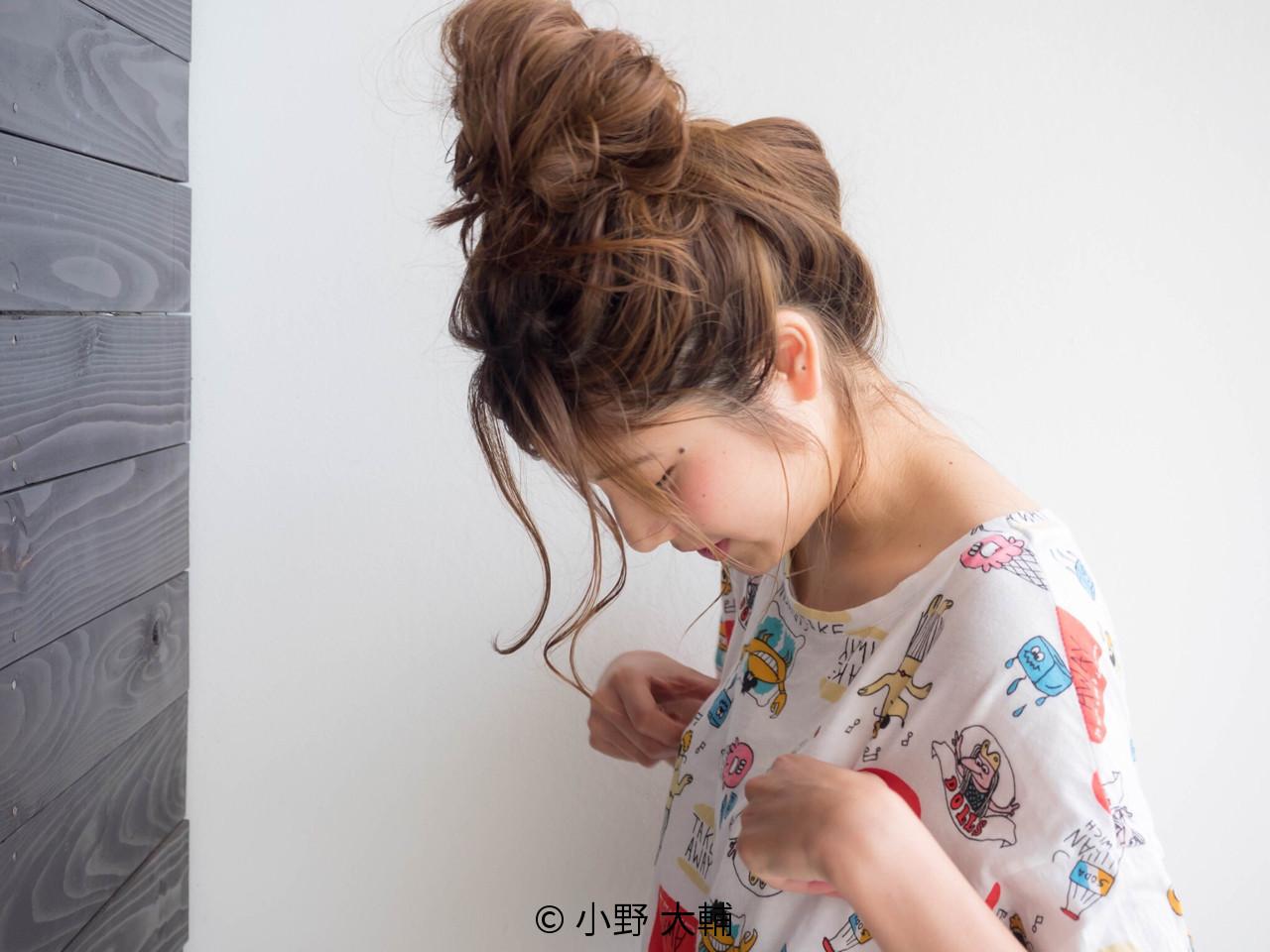 【簡単】お団子ヘアのやり方を徹底解説!ゆるくかわいくアレンジを♡の9枚目の画像