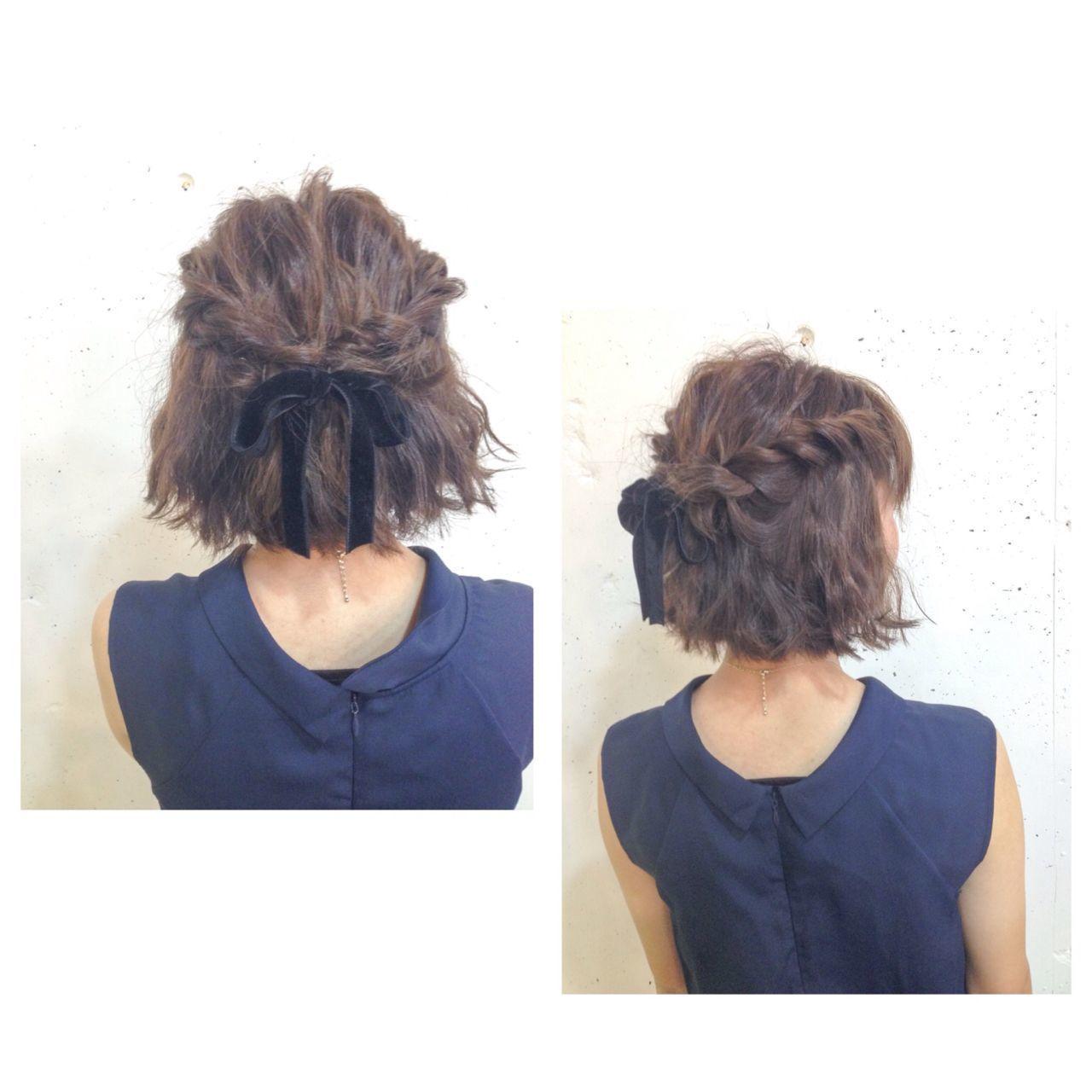 かわいいを簡単に♡ショートボブの巻き髪アレンジのやり方の12枚目の画像