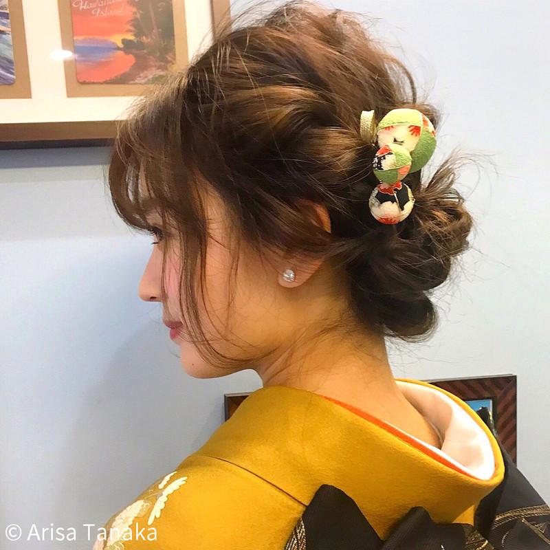 """日本人だったら知っておきたい♡""""大和撫子""""を作るかんざしの髪型"""