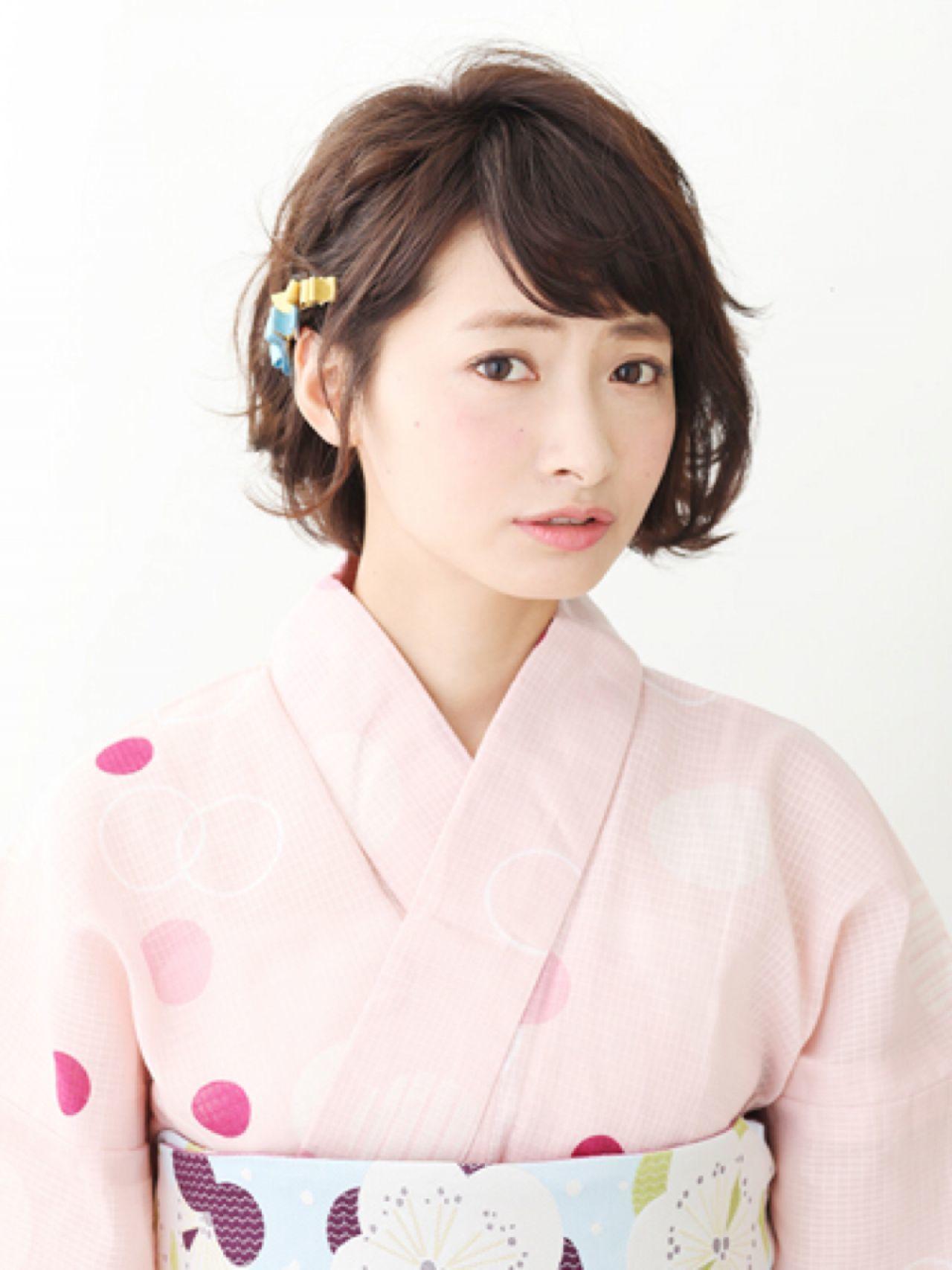 〈全68選〉浴衣に似合う髪型で恋キュンな夏を過ごしましょう♡の4枚目の画像