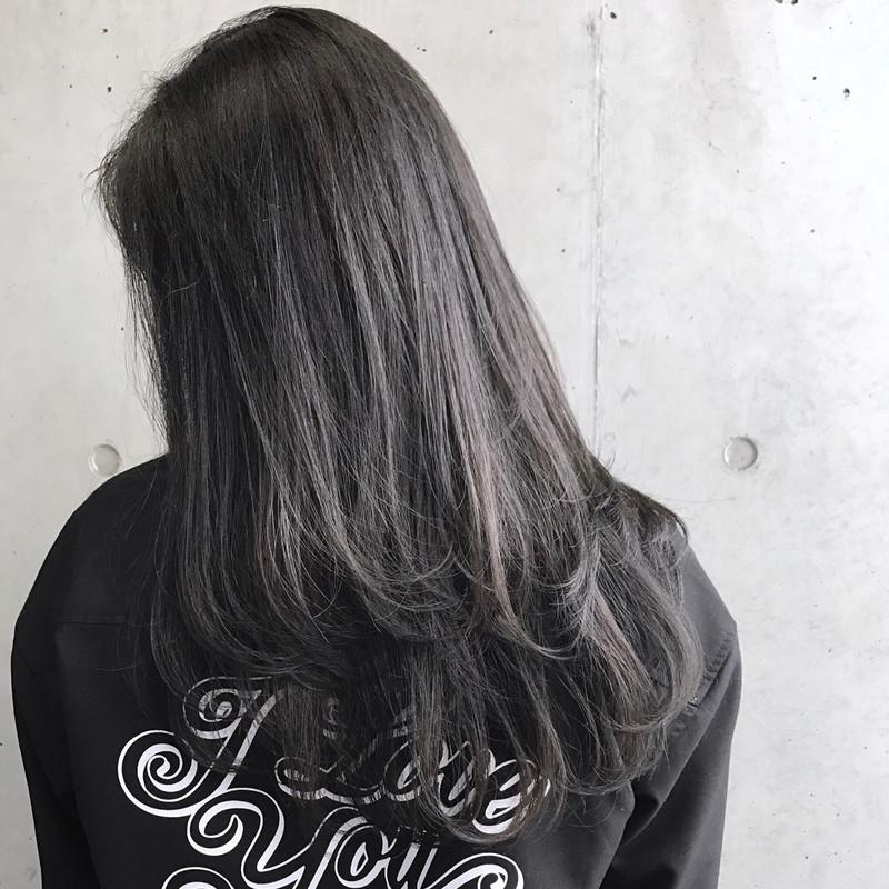 ブリーチなしでも可愛い 黒に近い髪色 暗めアッシュ大公開
