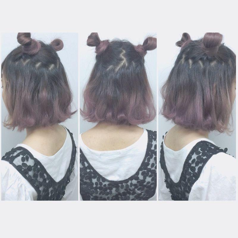 猫耳ヘアで映える髪型に♡ナチュラルな猫耳ヘアアレンジ集
