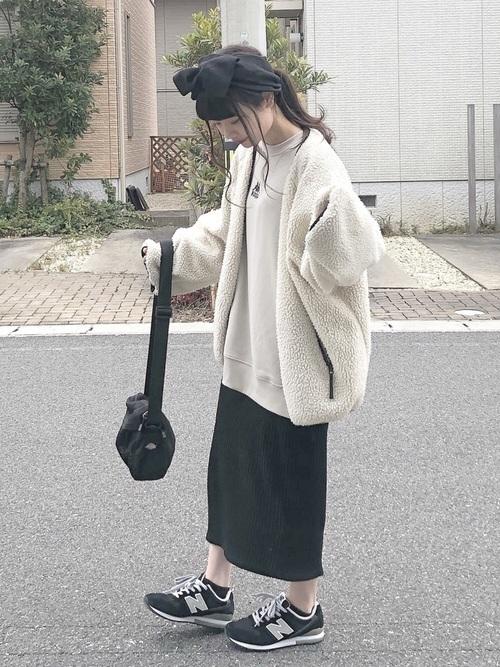 【2020春夏秋冬】タイトスカート(ミニ・ロング)の着回しコーデの3枚目の画像