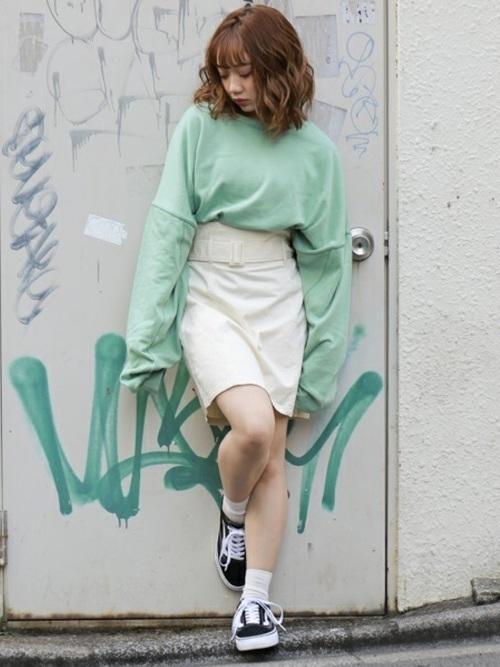 【春夏秋冬】タイトスカート(ミニ・ロング)の着回しコーデ術♡の5枚目の画像