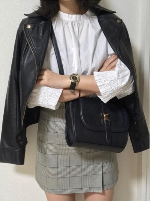 【春夏秋冬】タイトスカート(ミニ・ロング)の着回しコーデ術♡の6枚目の画像