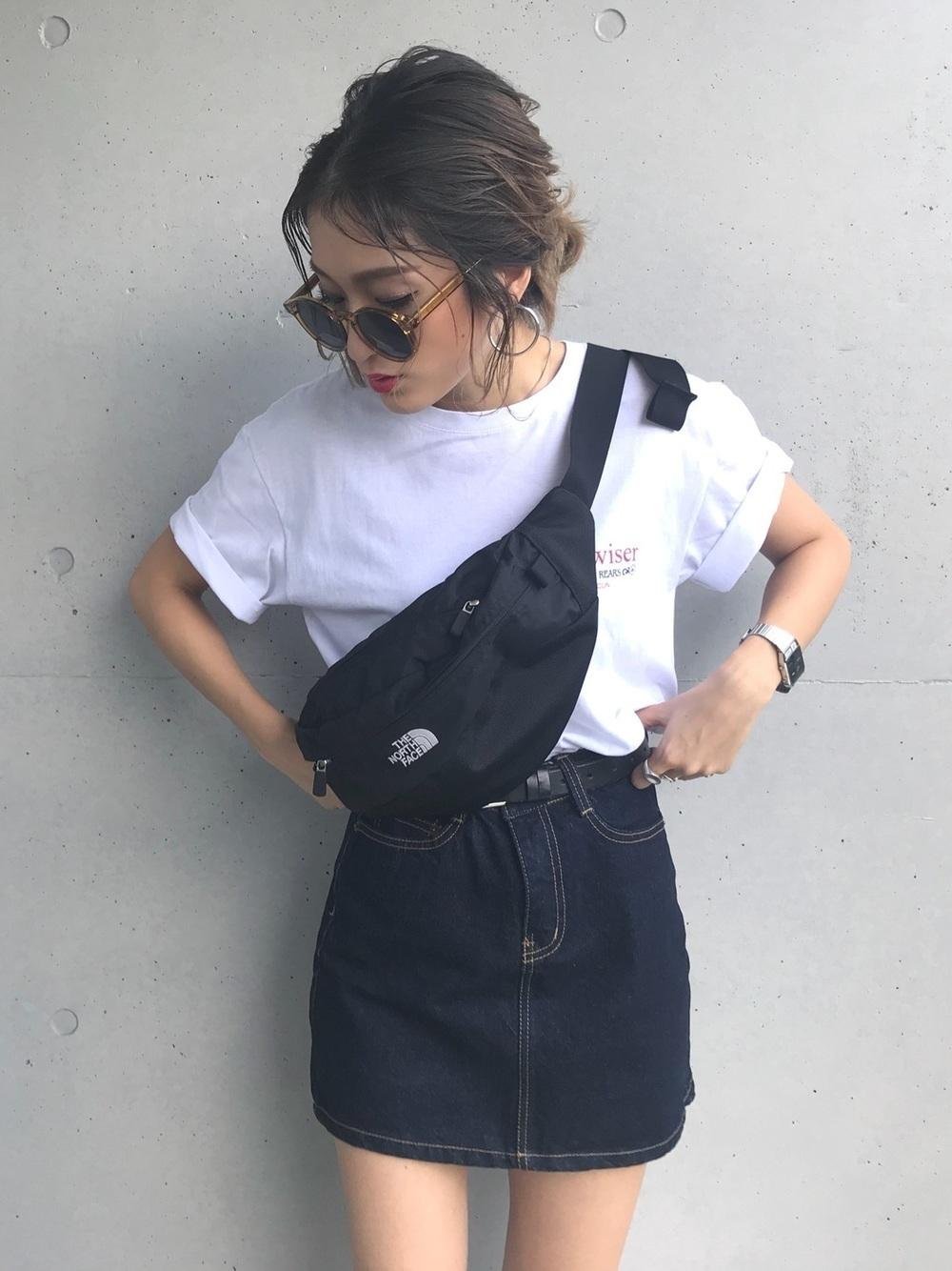 【2019春夏秋冬】Tシャツを着回し!レディースコーデをご紹介の5枚目の画像