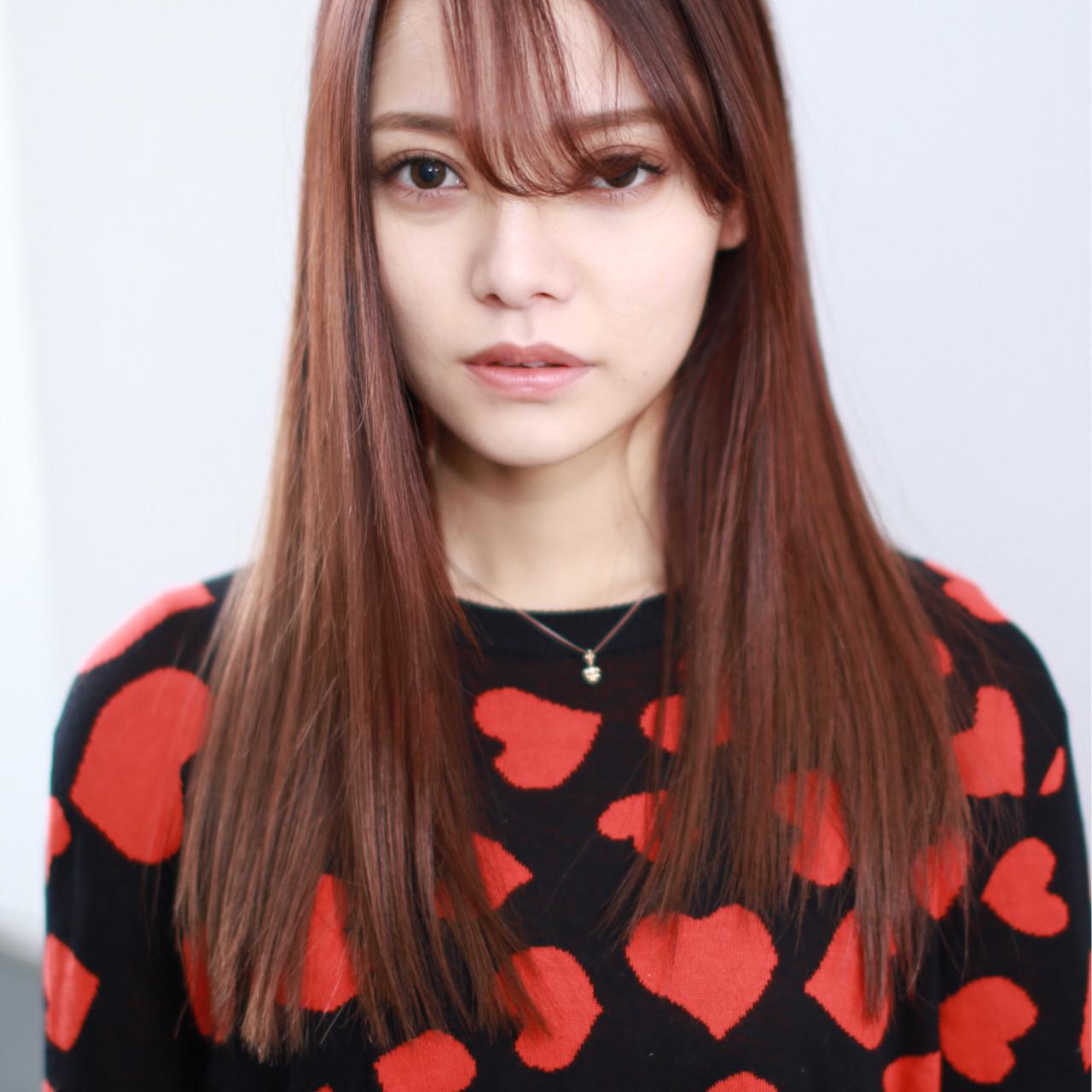 髪色から秋めいて。最新トレンドは「レッドブラウン」のヘアカラー♡の18枚目の画像