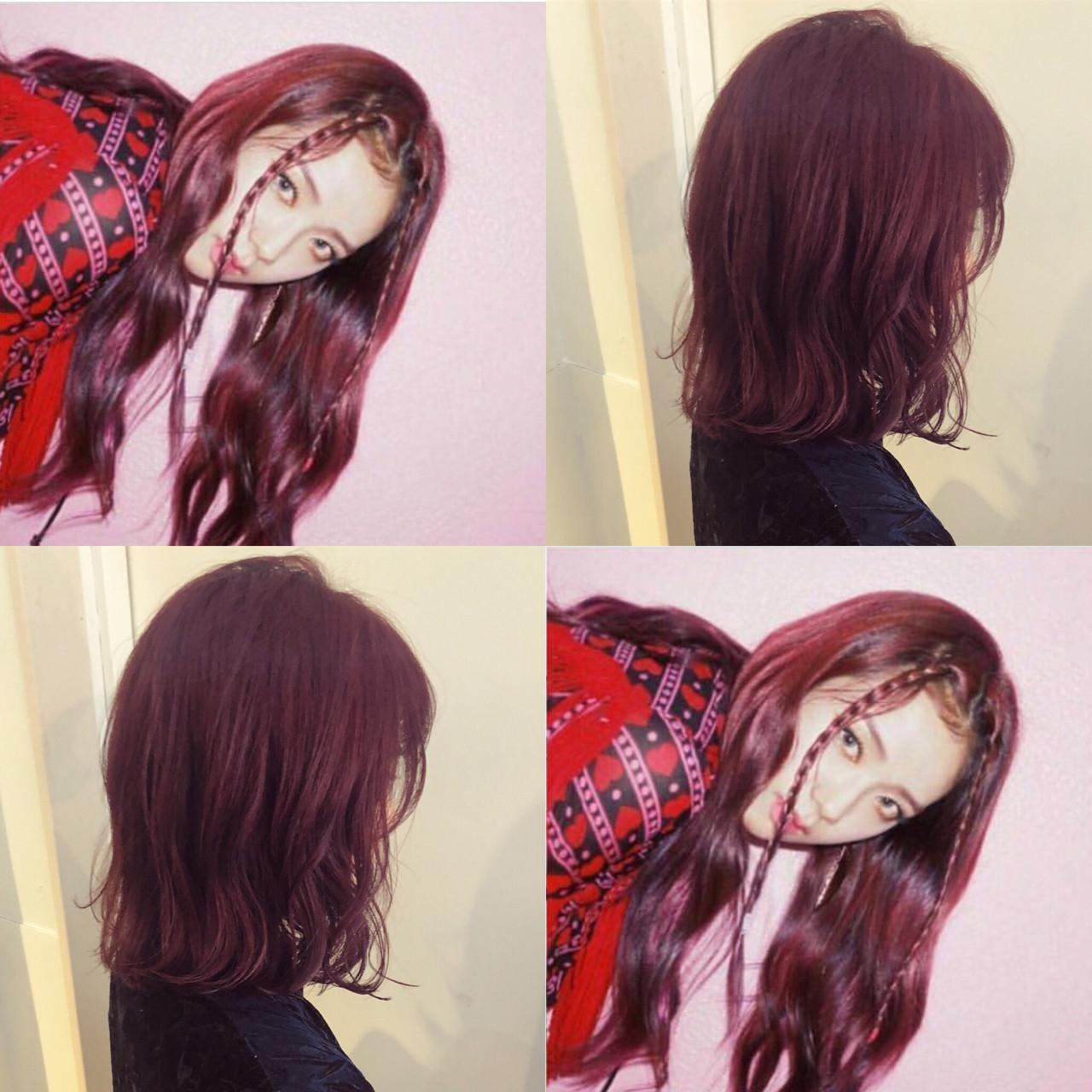 髪色から秋めいて。最新トレンドは「レッドブラウン」のヘアカラー♡の20枚目の画像