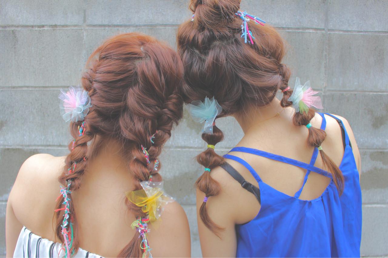夏が来た!!夏フェス参加者必見♡おすすめ髪型8選の6枚目の画像