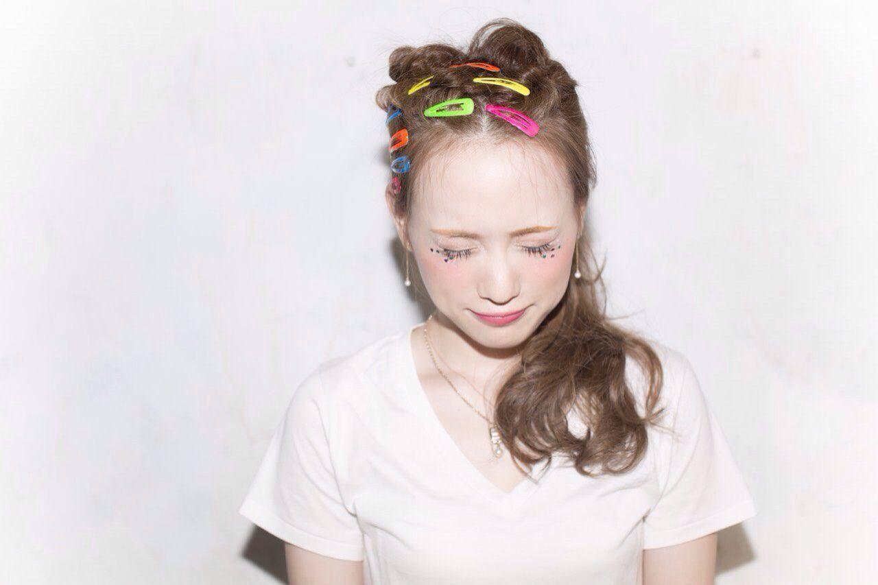 夏が来た!!夏フェス参加者必見♡おすすめ髪型8選の5枚目の画像