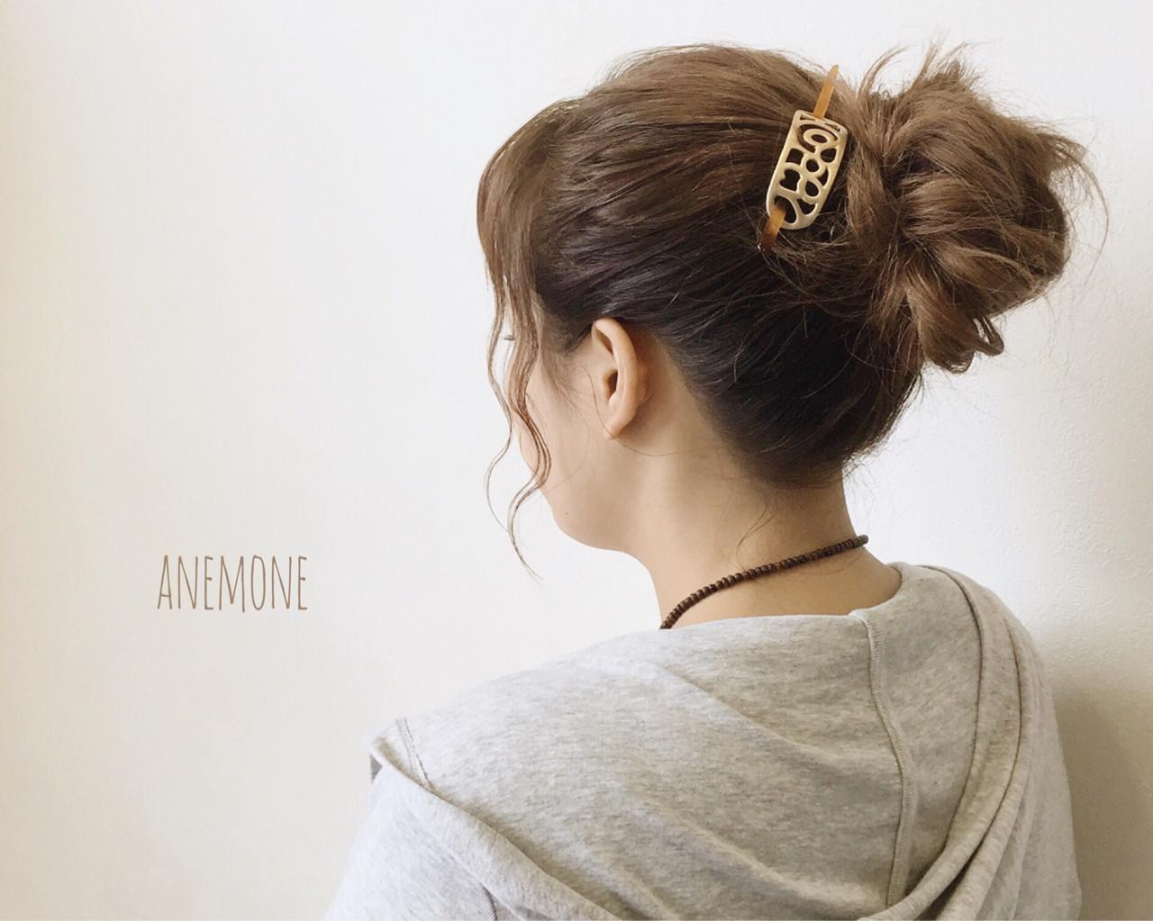 あざとかわいい♡お団子ヘアで簡単かわいいヘアアレンジに仕上げる!の16枚目の画像