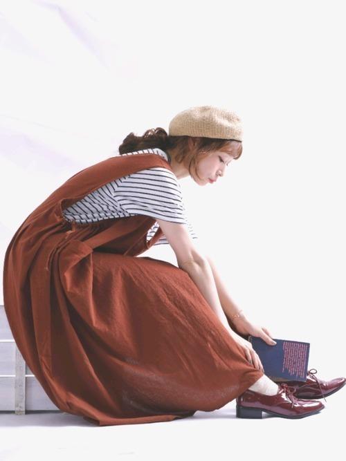 今年のアカ抜けコーデは《テラコッタ色》で彩る♡見本コーデ集